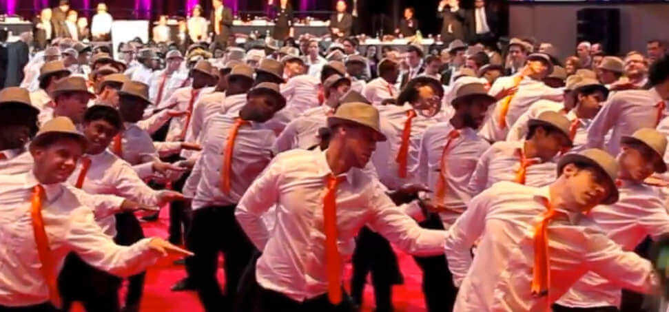 corporate event - get energized with a flashmob